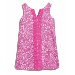 Lilly Pulitzer Pink See Ya Later Shift Dress NWT.